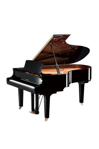 Grand Piano: Yamaha C5X: Polished Ebony
