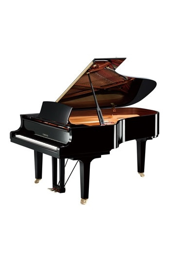 Grand Piano: Yamaha C6X: Polished Ebony