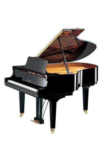 Grand Piano: Yamaha GC2: Polished Ebony