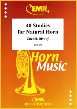 40 Studies For Natural Horn French Horn Solo