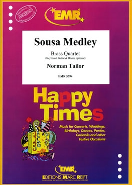 Sousa Medley Brass Quartet Score & Parts