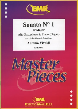 Sonata No1: Bb Major: Alto Saxophone & Piano (Mortimer)