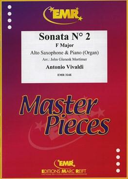 Sonata No2 F Major: Alto Saxophone & Piano (Mortimer)