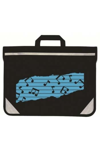 Black Duo Carrier - Coloured Music Motif