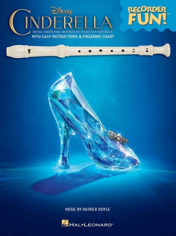 Cinderella Songbook With Easy Instructions: Recorder Music