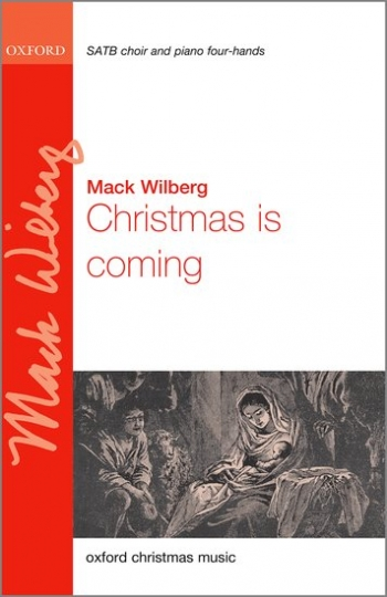 Christmas Is Coming: Vocal Satb  (Oxford)