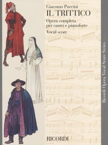 Puccini: Il Trittico: Opera Vocal Score (Ricordi)