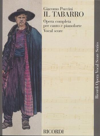 Il Tabarro: Opera Vocal Score (Ricordi)