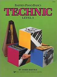 Bastien Piano Basics: Technic Level 3