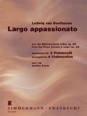 Largo Appassioanto Arranged For 4 Cellos (Fuchs)