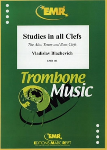 Trombone Studies In All Clefs  Alto Tenor And Bass