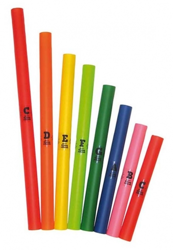 Voggy's Sound Tubes: 8 Colourful Melody Tubes