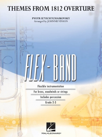 Themes From 1812 Overture Flex Band Ensemble: Score And Parts