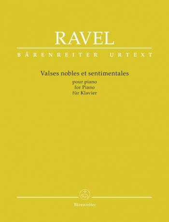 Valses Noble Et Sentimentales - Piano (Barenreiter)