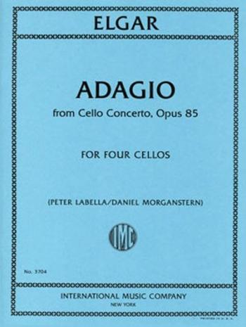 Adagio From Cello Concerto OP85  Arranged For 4 Cellos(International)