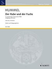 Der Rabe Und Der Fuchs Vocal TTBB (Schott)