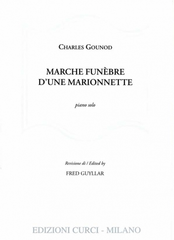 Funeral March Of A Marionette Piano Solo (Guyllar)