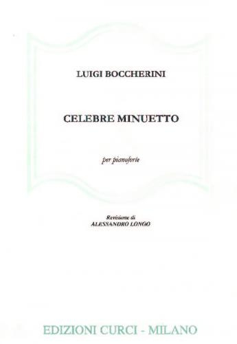 Celebrated Minuet From String Quartet Op.11, No.5 For Piano
