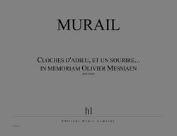 Cloches D'adieu, Et Un Sourir (in Memoriam Olivier Messiaen) Piano Solo