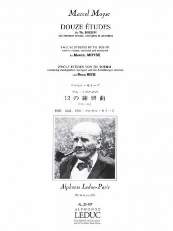 12 Etudes De Boehm For Flute Solo (Leduc)