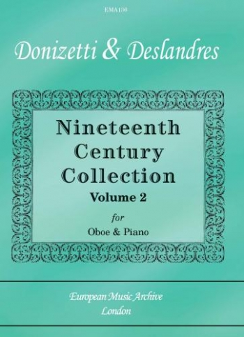 Nineteenth Century Collection: Vol 2: Oboe & Piano (European Music Archive)