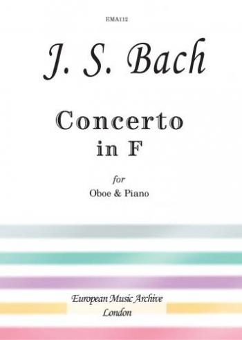 Oboe Concerto  F: Oboe & Piano (Ema)