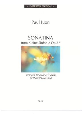 Sonatina From Kleine Sinfonie Op 87 Clarinet & Piano (Denwood)