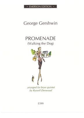 Promenade (Walking The Dog) Brass Quintet (Arr Denwood) Emerson