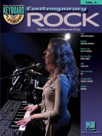 Keyboard Play-Along Volume 4: Contemporary Rock