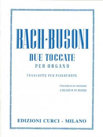 Toccata In D Minor For Piano (Toccata & Fugue) (arr Busoni) (Curci/Peters)