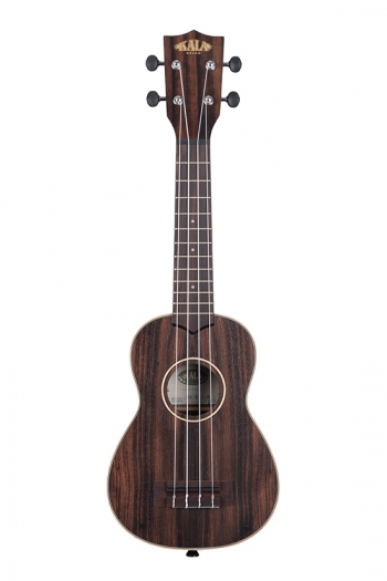 Kala KA-EBY-S  Ebony Striped Soprano Ukulele