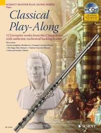 Classical Play Along: Flute: Book & CD