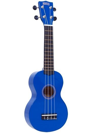 Mahalo Rainbow Soprano Ukulele Blue