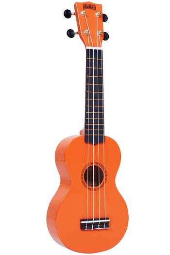 Mahalo Rainbow Soprano Ukulele Orange