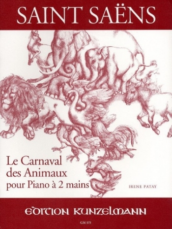 Carnival Of The Animals: A Minor: Op33: Piano Solo (Kunzelman)
