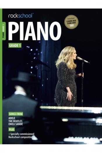 Rockschool Piano Grade 1: Book & Downloads