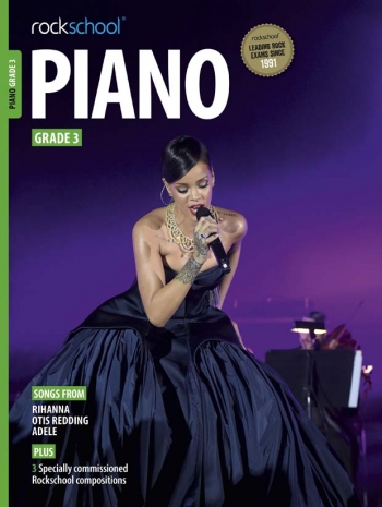Rockschool Piano Grade 3: Book & Downloads