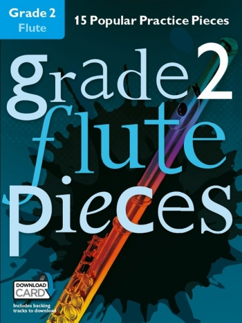 Grade 2 Flute Pieces: 15 Popular Practice Pieces Book & Audio Download (Chester)