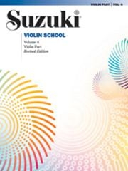 Suzuki Violin School Vol.6 Violin Part (Revised)