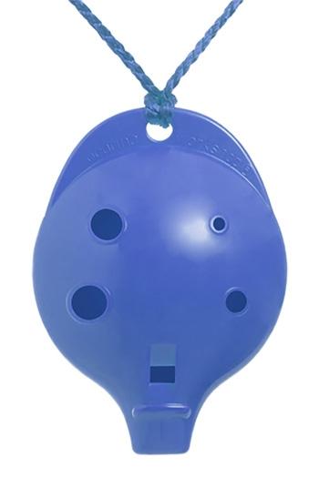 Ocarina Alto 6 Hole Cam Pack Blue