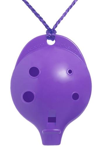 Ocarina Alto 6 Hole Cam Pack Purple