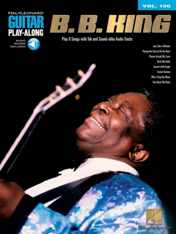 Guitar Play-Along Vol 100: B.B. King: Guitar Tab: Bk&Cd