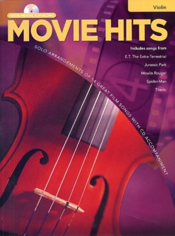 Movie Hits Instrumental Playalong For Violin Book & Cd