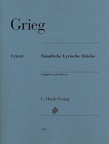Lyric Pieces Complete  Piano Solo (henle)