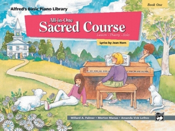 Alfred Basic All-in-One Sacred Course, Book 1 Piano