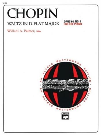 Waltz Op64/1 Db Major Minute Waltz  Piano (Alfred)