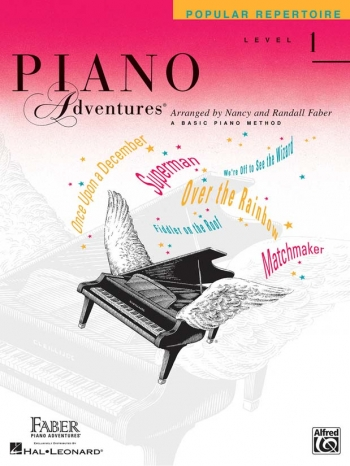Piano Adventures: Popular Repertoire - Level 1 (Nancy & Randall Faber)