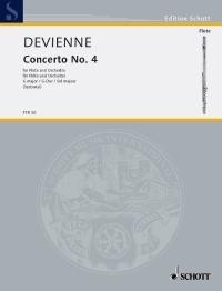 Concerto No. 4: G Major: Flute & Piano (Schott)