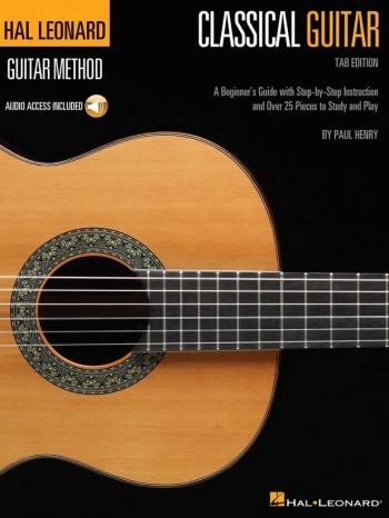 Hal Leonard Classic Guitar Method Book Tab Editon