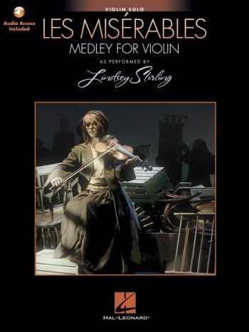 Les Miserables Medley For Violin Solo - As Performed By Lindsey Sterling (Book/Online Audio)
